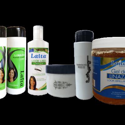 Kit para cabello liso apto para el método